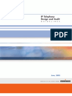 01 IP Telephony Design and Audit Guidelines Ed3