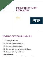 Crop Production 6-Soils