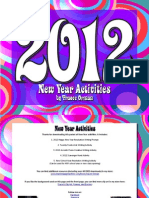 2012 New Year Activities