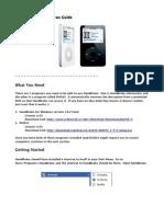 Handbrake DVD-2-iPod Guide