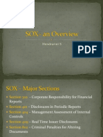 SOX – an Overview