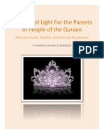 A Crown of Light for the Parents of People of the Quraan