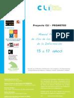Manual práctico del uso de las TIC 15 a 17 años