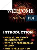 An Introduction of Economics