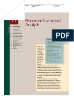 Finance Accounting Financial Statement Analysis View