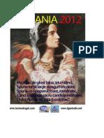 CALENDARUL ROMÂNILOR DE PRETUTINDENI 2012