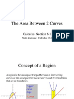 Area Between 2 Curves