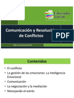 Comunicacion y Resolución de Conflictos (Juan Pedro Guardia)