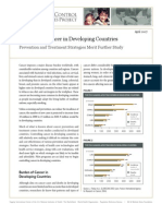 Controlling Cancer in Developing Countries