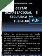 GESTÃO SEGURANÇA DO TRABALHO