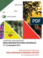 Program Confer Int A Rosia Montana 1