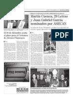 """""""Los españoles del Western"""" (Editorial Círculo Rojo), de Juan Gabriel García, nominado a los premios ASECAN"""