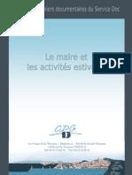Dossier Activites Estivales