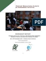 IPCCA Durban Workshop Report