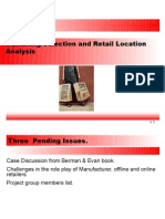 Retail Location Theories