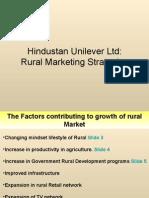 Hindustan Lever Rural Marketing Strategies