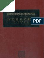 Derecho Civil_ignacio Galindo Garfias