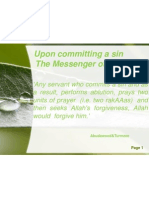 Upon committing a sin