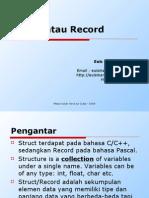 Materi 4 - Struct Atau Record Revisi