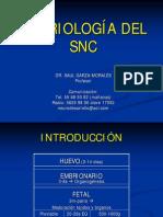 Embriologia de Snc Univ Anahuac 2005