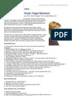 Psychcentral.com-Anger Trigger Behaviors