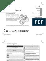 Manual Fuji HS20 Portugues
