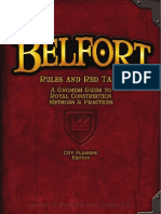 Belfort English Rules