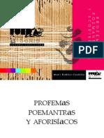 Mavi Robles-Castillo - Profemas, poemantras y aforisíacos