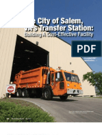 The City of Salem, VA's Transfer Station
