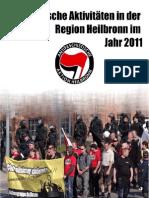 Faschistische Aktivitäten in der Region Heilbronn im Jahr 2011
