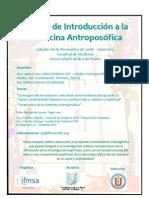 Afiche Curso Medicina Antroposófica