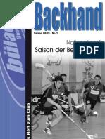 Backhand 2008/2009 Nr. 1