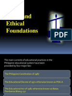 Legal and Ethical Foundation Power Point