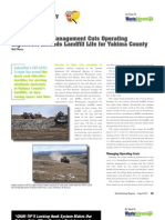 Good Machine Management Cuts Operating Expenses, Extends Landfill Life for Yakima County