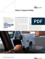 Focusing on the Driver to Improve Safety