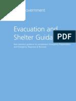 Evac Shelter Guidance
