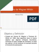 Algoritmo de Wagner-Whitin