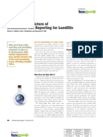 The Changing Picture of Greenhouse Gas Reporting for Landfills