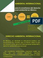 DERECHO AMBIENTAL INTERNACIONAL