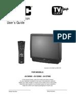 Jvc Tv Av-32980 Manual