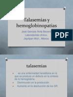 Talasemias y hemoglobinopatias