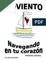 Navegar Es Vivir_Dinamica Adviento Bachillerato_Navegando en Tu Corazon