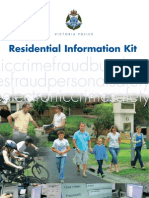 Victoria Police Residential Information Kit