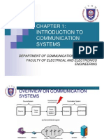 Chapter 1 Introduction to Communication Systems
