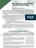Manifesto - Círculo Educação Linguistica