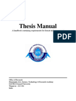 Thesis for Sastra