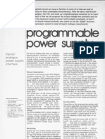 7 Nov 1983 Programmable Power Supply