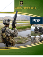 2010 Army Sustainability Report