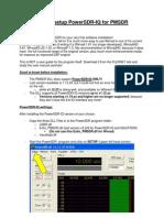 HowTo Setup PowerSDR-IQ