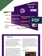 Revista Digital Nº 1 Año 2012 Letras y Algo Más
